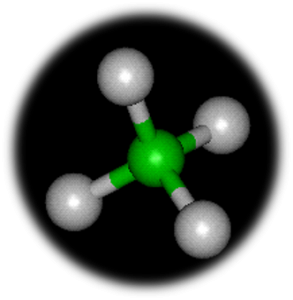 Image showing the Chemical make up of Methane